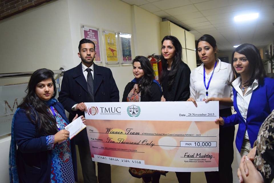 TMUC holds National Moot Court Competition 2015