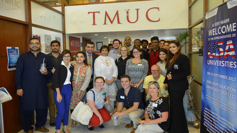 19 US universities visit TMUC education exhibition